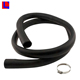 Solid Round heat resistant rubber drain hose