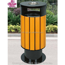 Outdoor round flat top trash can, ashtray bin GPX-62