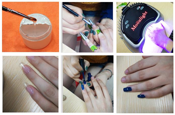 LED UV Lamp Curing Hands LED UV Nail Gel Nail Dryer, View LED UV ...