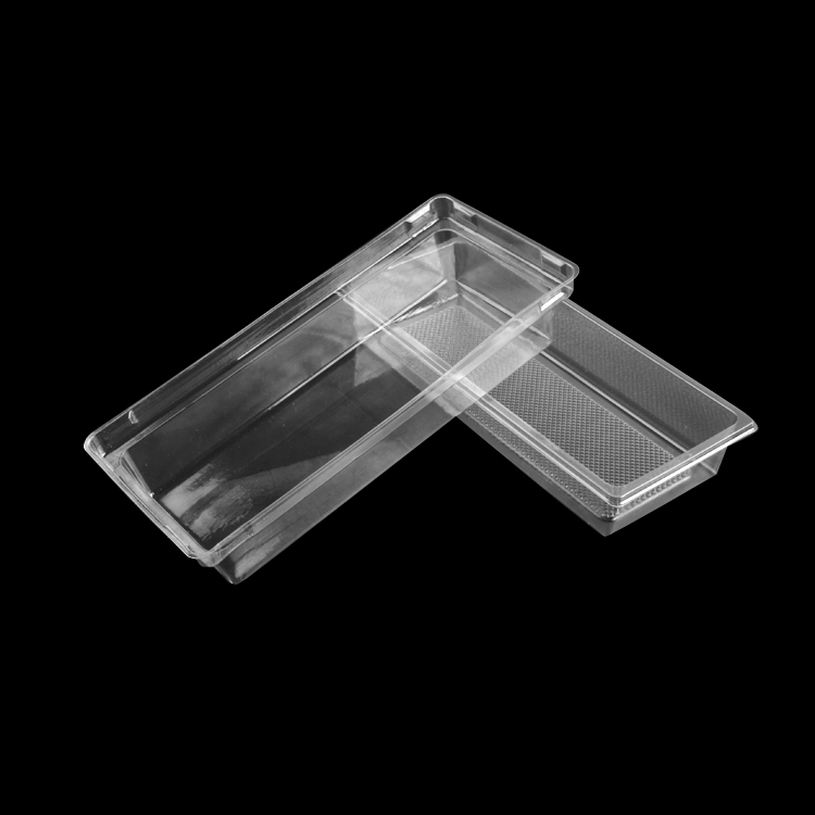 Cheap Price Rectangular Transparent Blister Box Cake