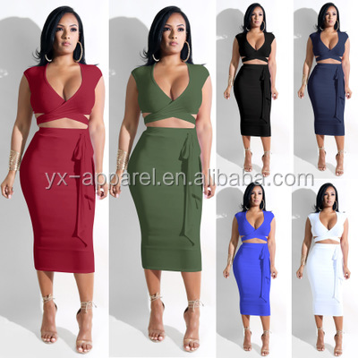 Wholesale one pieces strapless printed bodycon dresses for sexy women