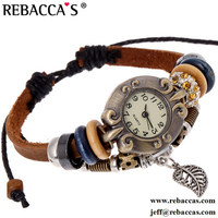 Rebacca's Butterfly Cheap Watches For Women Fashion Ladies Leather ...
