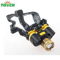 Super bright sale product zoom rechargeable cob car camping 6000 lumen led headlamp