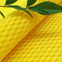 washable and breathable 100% polyester 3d air mesh fabric mattress,breathable car seat covers double mesh fabric