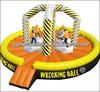 High quality inflatable wrecking ball, funny inflatable sport games A6034