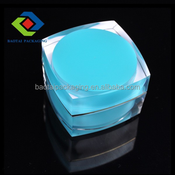 20ml acrylic uv gel empty jar for cosmetic packaging