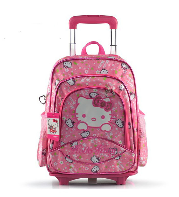 Buy Hello Kitty Triple Layer Children School Bags With Wheels Mochilas  School Kids Trolley Backpacks For Girls Free Shipping in Cheap Price on  m.alibaba.com aae37de147100