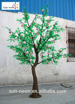 Nice Fruit Bearing Trees Smart Artificial Peach Blossom Tree Nice Cheap  Tropical Fruit Trees For Sale - Buy Fruit Bearing Trees,Artificial Peach