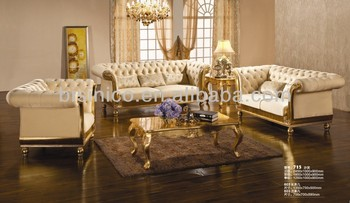 Europese stijl luxe moderne woonkamer meubels nieuwe klassieke