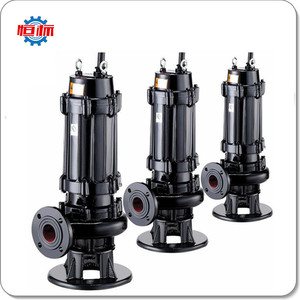 Hengbiao WQ Series pumps supplier city sewage waster water large capacity  sewage centrifugal pump