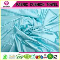 Light weight shiny polyester satin fabric wedding decoration fabric