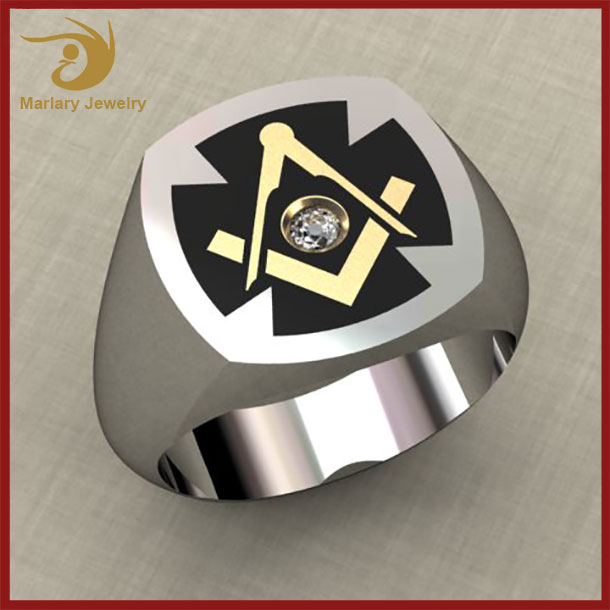 China Wholesale Jewelry Ring,Cheap Antique Stainless Steel Championship Masonic Ring For Men