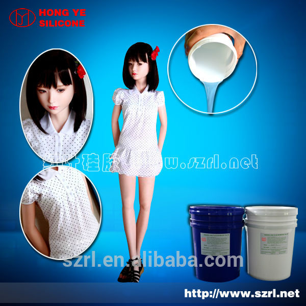 addition silicone rubber for love dolls
