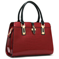 Fashion low price ladies bags china manufacturers leather handbags for women