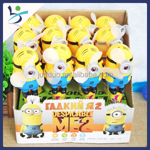 Candy Dispenser With Cartoon Toy Minions Animation Figure For Kids ...