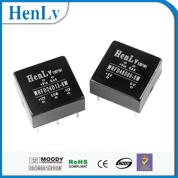 1:1dc/dc power supply 3.3-48v HenLv module 10years quality