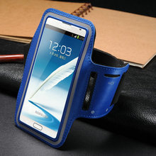 luxury case for galaxy note, sport armband case for samsung galaxy note, mobile phone case for samsung galaxy note i9220