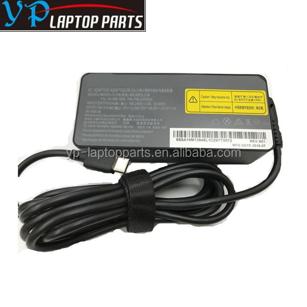 Original laptop charger 65w AC/DC Adapter for Lenovo TYPE C 20V 3.25A