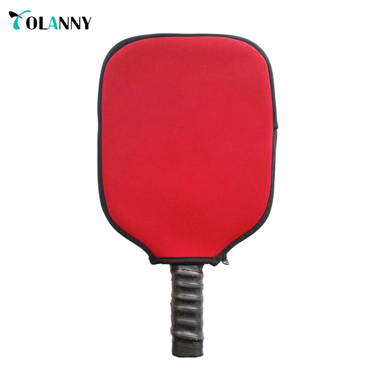 best seller professional top quality protective red neoprene pickleball paddle bag