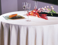 100% polyester banquet chair cover for wedding party round polyester tablecloth table cover table linen