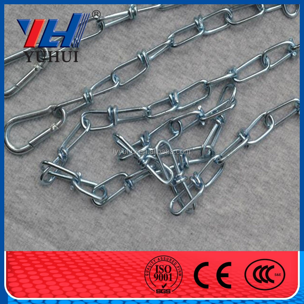 Newest fashion trend hot-selling cheap adjustable USA standard double loop knotted chain