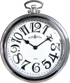 Large Round Vintage Metal Clock Pocket Watch Shape Wall Product On Alibaba