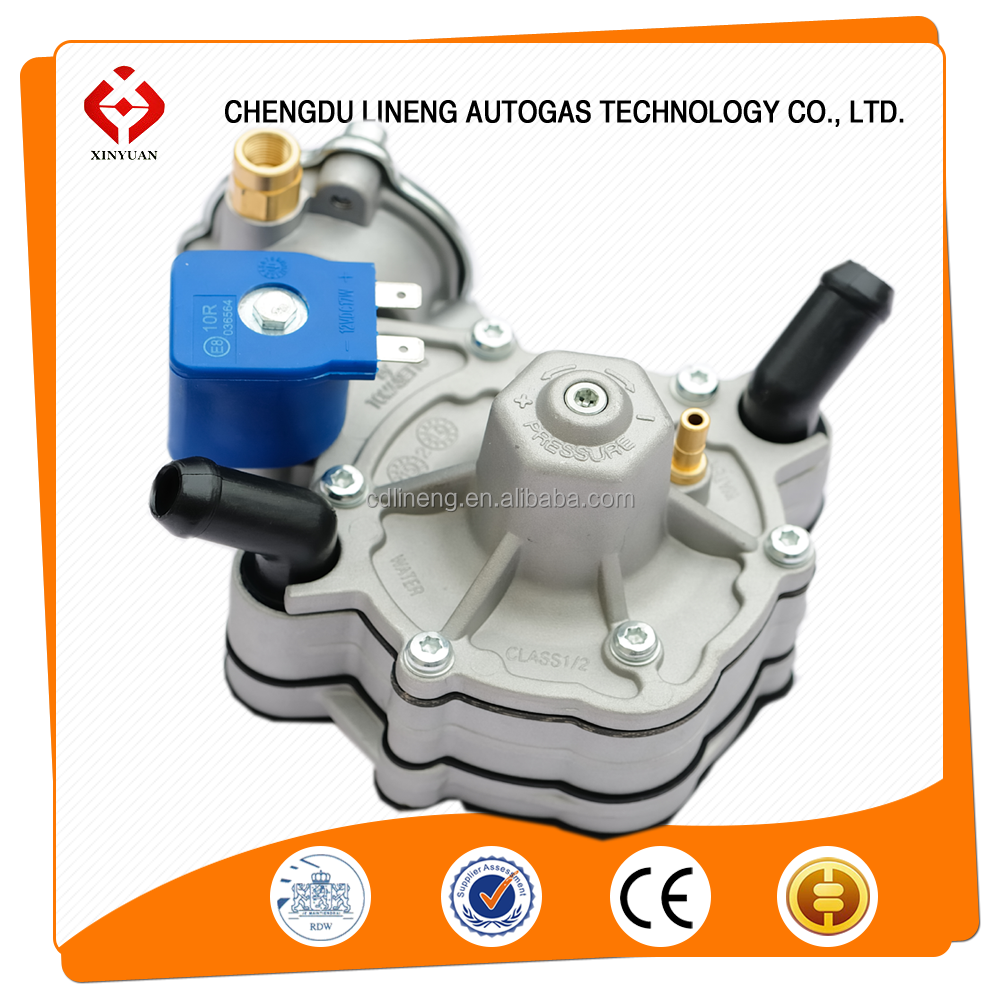 dual fuel cng sequencial injection system/ cng pressure reducer
