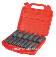 "BESITA 14PCS 1/2"" Dr. Deep Impact Socket Set Hand Tool Accessories Set"