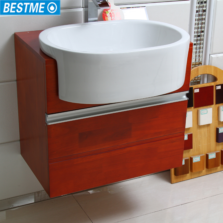 North america style modern solid wooden bathroom vanity for Bathroom cupboards for sale
