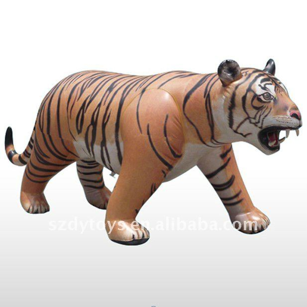 pvc inflatable Tiger Toy