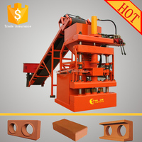 LY1-10 automatic mud interlocking brick machine clay interlocking brick making machine price