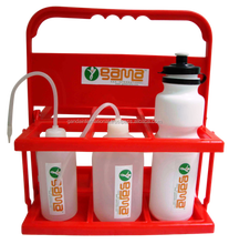 Eco-friendly reusable sports water bottle carrier
