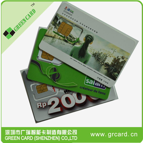 Highly Quality And Competitive Gsm Test Sim Card Pvc Card Support ...