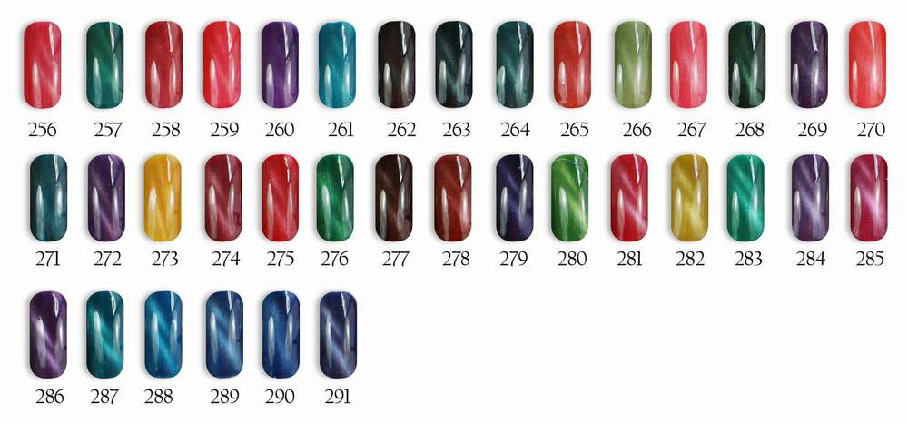 Hot sale color 1000 magnetic gel polish