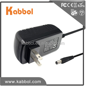 2017 Kabbol CCTV Power Supply 12V 1A 12W Table desk lamp adapter 5.5x2.1mm Plug Black