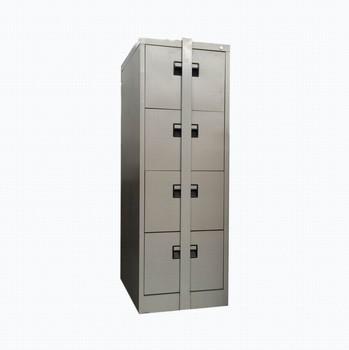 Metal Safe 4 Drawers Filing Cabinet