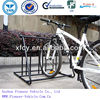 strong and durable 6 bike bicycle floor parking rack storage stand