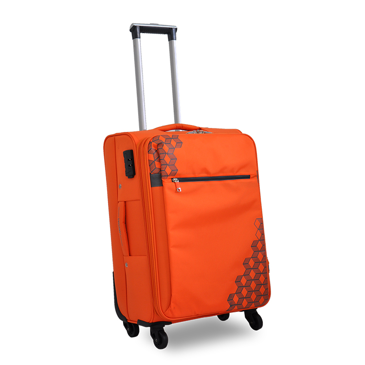 nylon bag vip 4-wheel trolley luggage case
