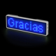 Bluetooth APP Programmable LED Name Tag LED Message Badge LED Sign B1144