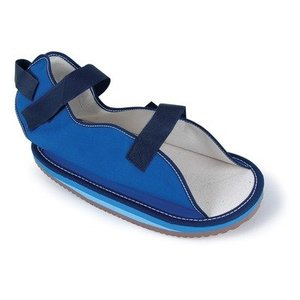 Canvas post-op shoes Medical shoes medical orthopedic shoes with EVA insoles