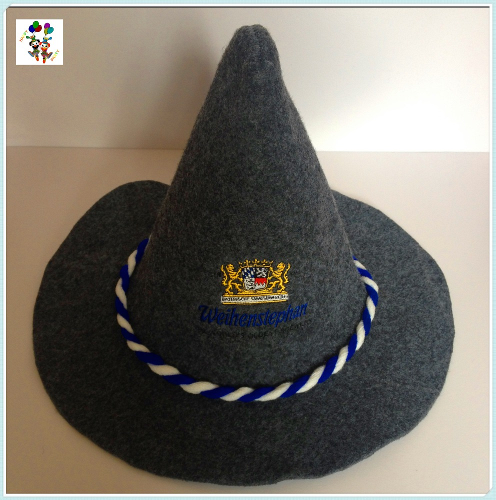 German Bavarian Oktoberfest Party Peaked Felt Hats Hpc-3301 - Buy Felt Hats 868988894c0b