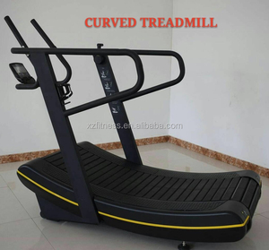 Competitive Curved treadmill / gym fitness equipment /Gym running machine