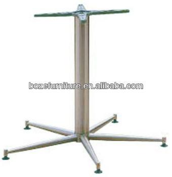 Stainless Steel Adjustable Table Legs Metal Dining Table Base