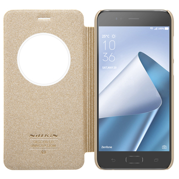 new concept 46871 cf610 Latest Nillkin Sparkle Leather Case For Asus Zenfone 4 Leather Smart Flip  Cover - Buy Sparkle Leather Case For Asus Zenfone 4,Leather Smart Flip ...