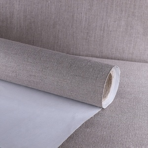 100% pure linen art painting coated canvas roll for oil drawing