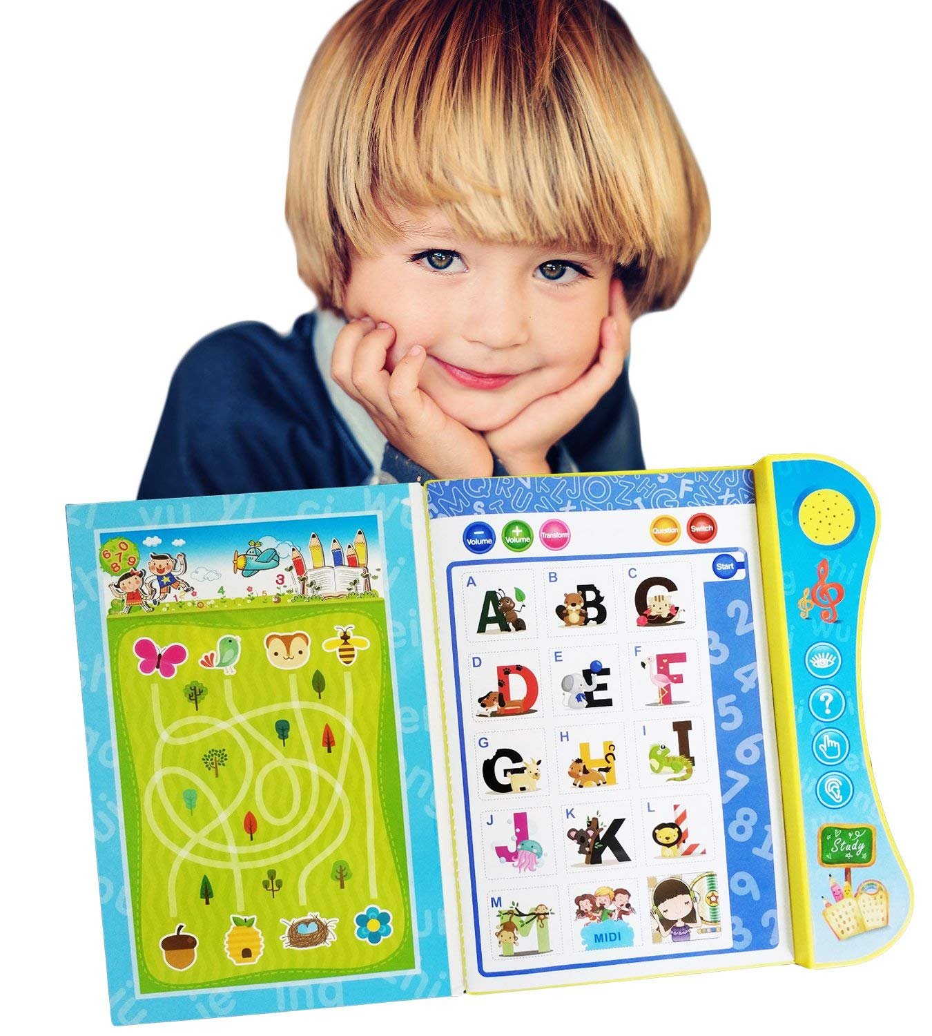 For 2 Years an Plastic Blocks with Audio Talking ABC Blocks Alphabet Learning