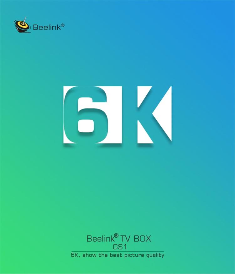 Best Quality Guarantee Digital Set Top Box Beelink Gs1 Black Web Browser  Smart Tv Box Support 6k - Buy Digital Catv Set Top Box,Black Box Tv