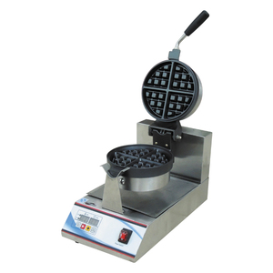 Single Plate Digital Control Rotary Electric Waffle Maker Price