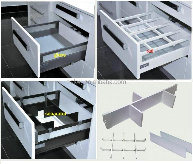 Full Extension Soft Close Drawer Slide,silence metal box Quadro, View  Drawer Slide, NISKO,BLUWARE Product Details from Guangzhou Bluware  Precision