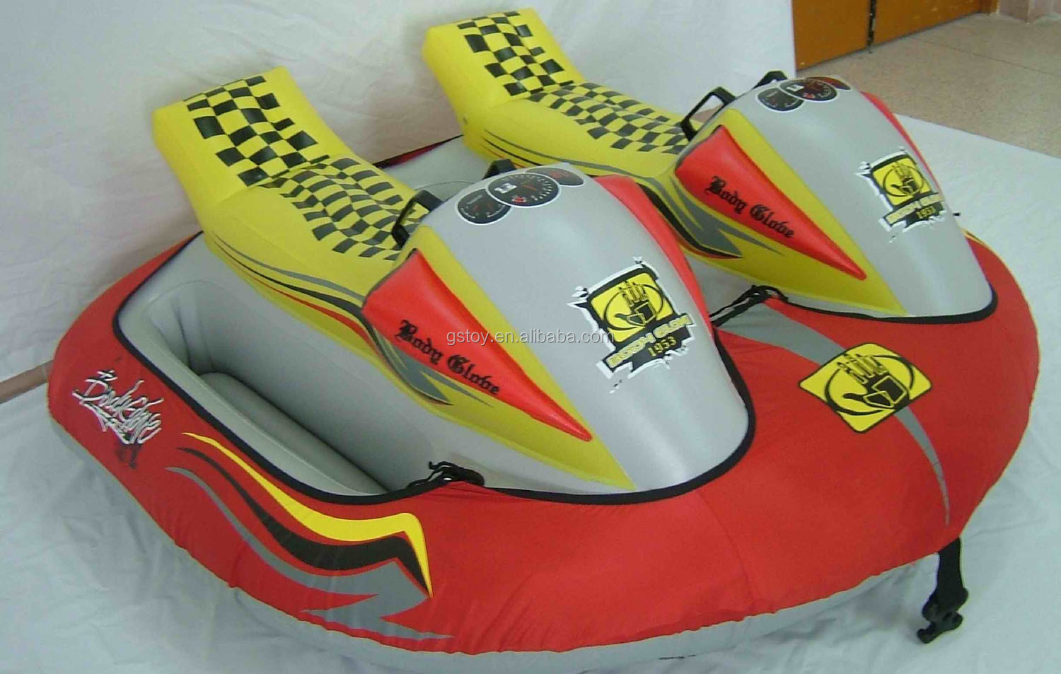 Custom Inflatable Sledge Snow Double Riders Inflatable Jet Ski For ...